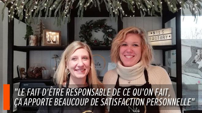 Isabelle et Sophie réalisent leur rêve de boutique de loisirs créatifs après un burn out :
