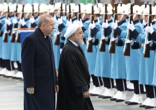Erdogan et Rohani veulent renforcer leur coopération sur la Syrie