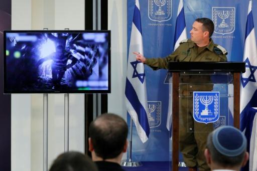 L'armée israélienne a commencé à détruire les tunnels du Hezbollah