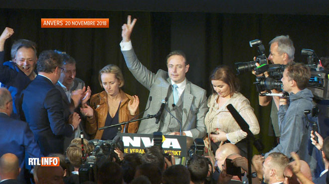 Bart De Wever présente sa nouvelle majorité à Anvers, baptisée
