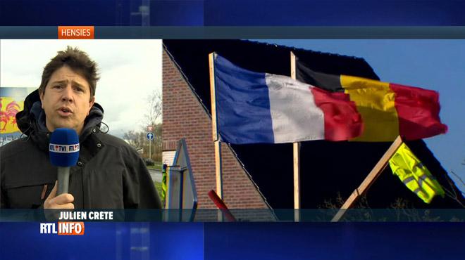 Gilets jaunes: aucun blocage des achats de Noël ne sera toléré ce week-end entre la Belgique et la France