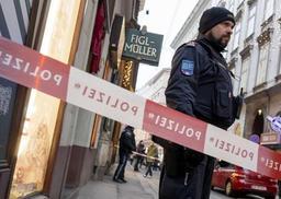 Fusillade à Vienne: la police sur la piste d'une mafia des Balkans