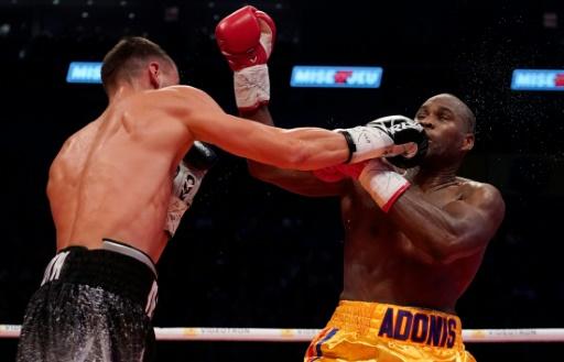 Le boxeur Stevenson sorti du coma, selon sa compagne