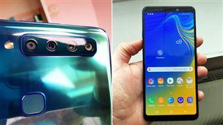 Les tests de Mathieu- ce smartphone de Samsung a 4 capteurs photo à l'arrière, y a-t-il un réel intérêt ?