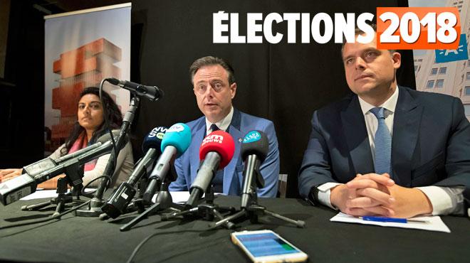 Socialistes et libéraux flamands s'allient à la N-VA pour diriger Anvers
