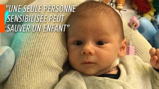 Le petit Antoine a rapidement besoin d'une greffe de coeur pour vivre: ses parents lancent un appel sur Facebook
