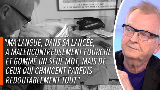 Michel Henrion s'exprime sur ses propos tenus en direct qui ont fait polémique: