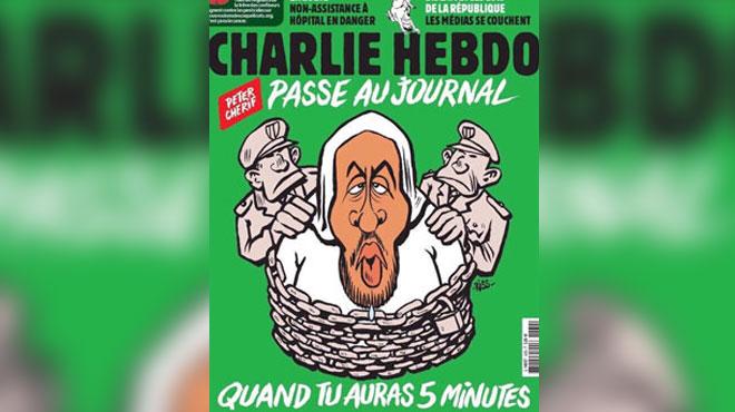 Charlie Hebdo réagit à sa manière à l'arrestation de Peter Cherif: c'est un proche des auteurs de l'attaque contre le journal