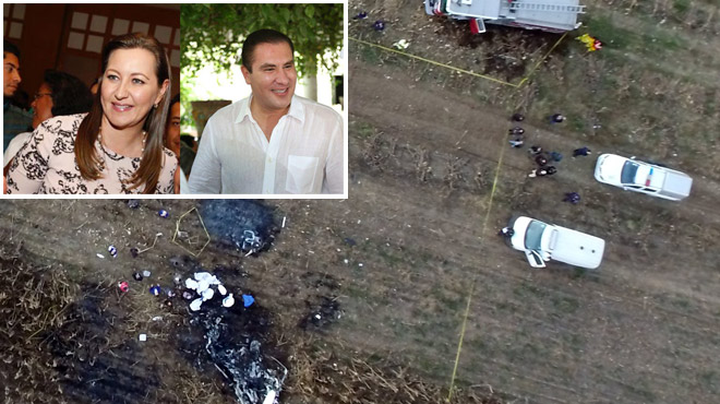 Mexique: un couple de personnalités politiques perd la vie dans le crash d'un hélicoptère