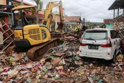 Tsunami en Indonésie - Le bilan passe à 429 morts