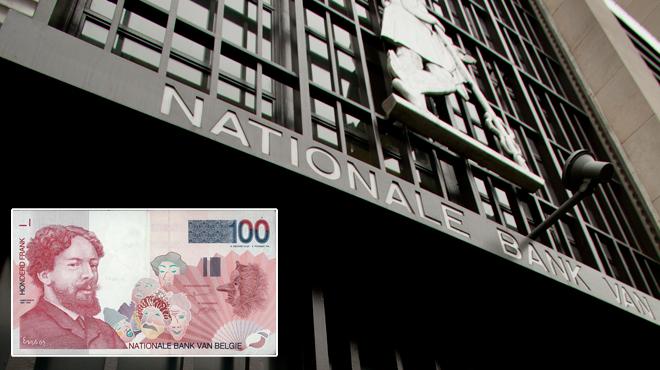 16 milliards de francs belges pas encore échangés, 16 ans après le passage à l'euro