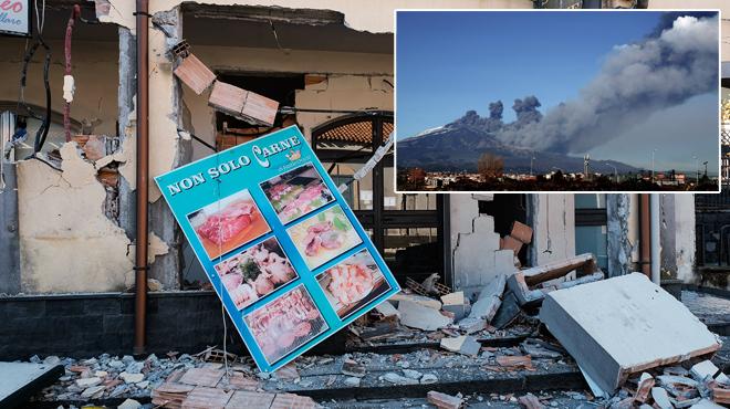 Un séisme fait trembler l'Etna: plusieurs blessés