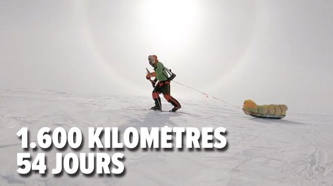 Cet Américain a réalisé un EXPLOIT: traverser l'Antarctique en solo et sans assistance (photos)
