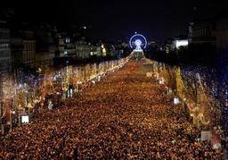 Les festivités du Nouvel-an maintenues sur les Champs-Elysées
