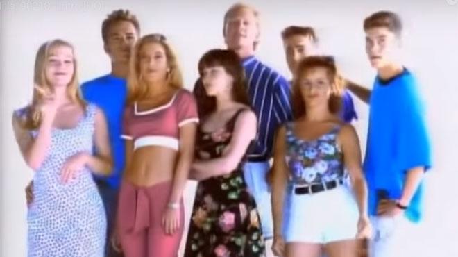 Cette photo va réjouir tous les fans de la série Beverly Hills 90210