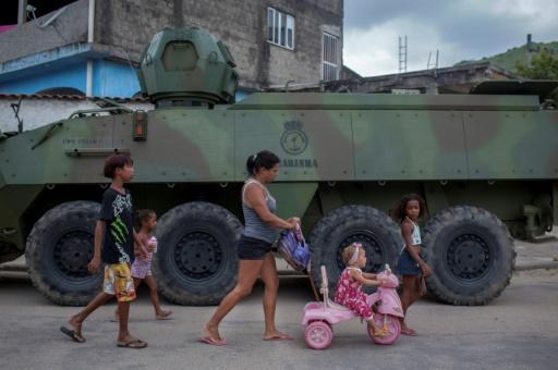 Les militaires au centre de la sécurité à Rio: un bilan mitigé