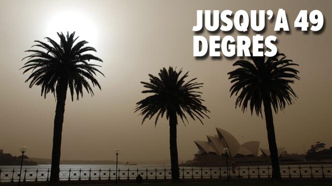 Une vague de chaleur s'abat sur l'Australie: des températures records dans plusieurs villes