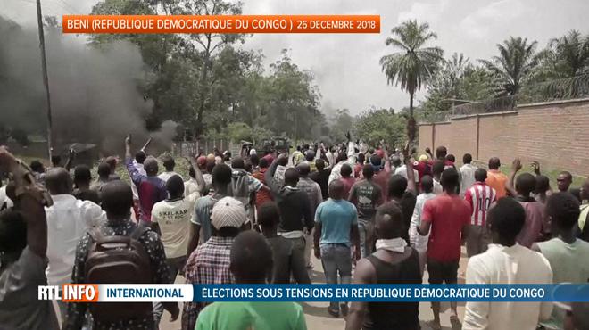 La tension grandit à 48 heures des élections au Congo, la grève générale peu suivie