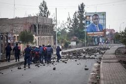 Manifestations à Goma et Butembo, grève générale peu suivie ailleurs