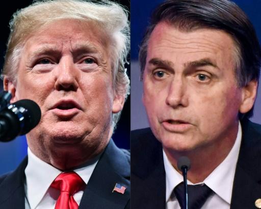 Bolsonaro attendu début 2019 à Washington