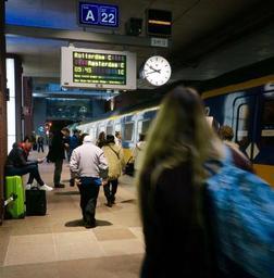 Près d'un train Intercity sur 5 entre Bruxelles et Amsterdam enregistre un retard