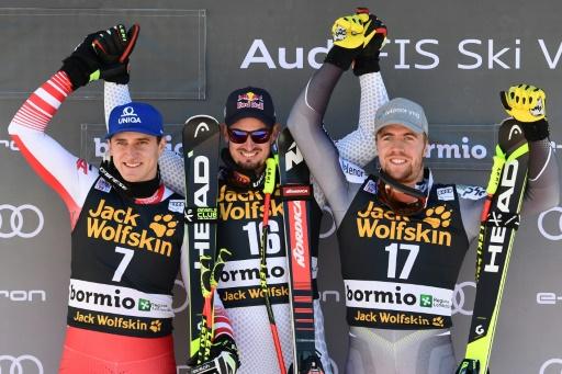 Ski: Paris s'offre le doublé à Bormio pour un centième