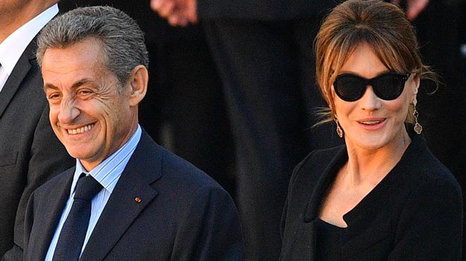 Quand Carla Bruni fait une déclaration à Nicolas Sarkozy:
