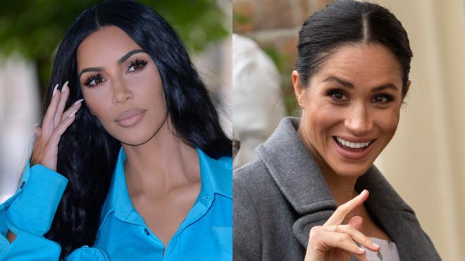 Kim Kardashian prête à tout pour être amie avec Meghan Markle: elle lui préparerait un