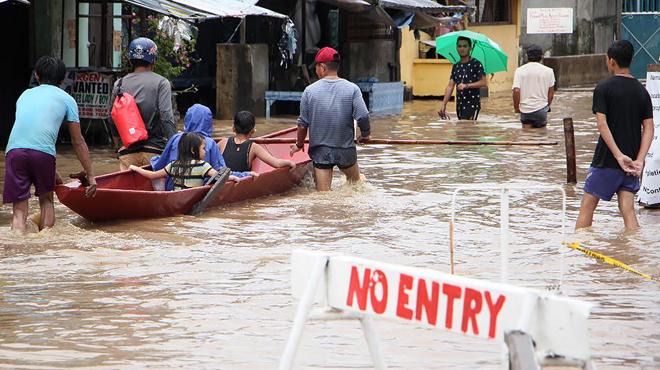 Une tempête frappe les Philippines: au moins 22 morts