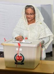 La coalition de la Première ministre Hasina remporte les élections au Bangladesh