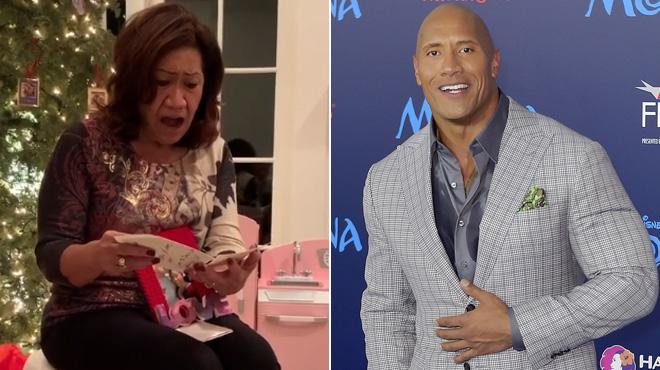 Dwayne Johnson offre à sa mère la maison de ses rêves (vidéo)