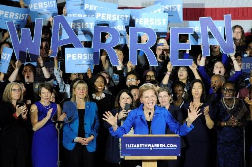 Elizabeth Warren lance la course démocrate à la présidentielle américaine