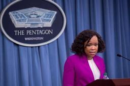 Démission de la porte-parole du Pentagone