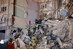 Le bilan provisoire de l'explosion d'un immeuble en Russie monte à sept morts