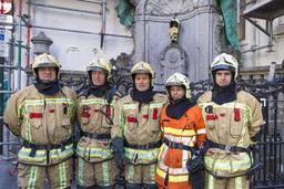Nouvel an: Les pompiers ont géré de nombreux incidents sur la voie publique à Bruxelles