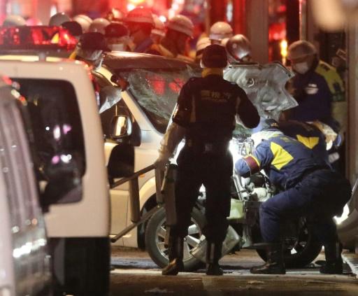 Tokyo: un homme fonce en voiture dans la foule, neuf blessés