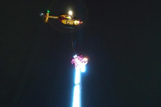 A Rennes, un Nouvel An coincé dans un manège à 50 mètres du sol