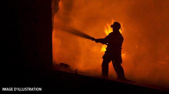 Nuit très mouvementée pour les pompiers de la province du Luxembourg