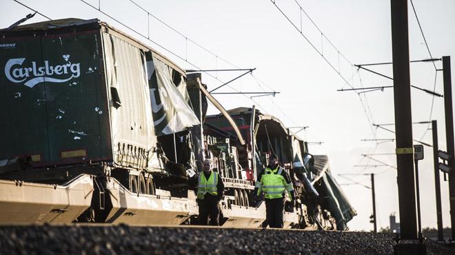 Un accident ferroviaire fait 6 morts au Danemark: