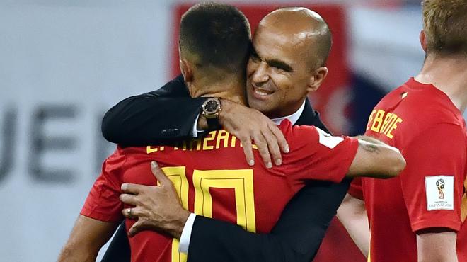 Roberto Martinez conseille Eden Hazard: