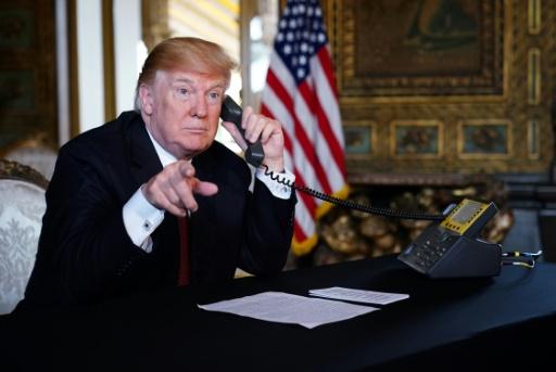 Trump dit avoir reçu une lettre