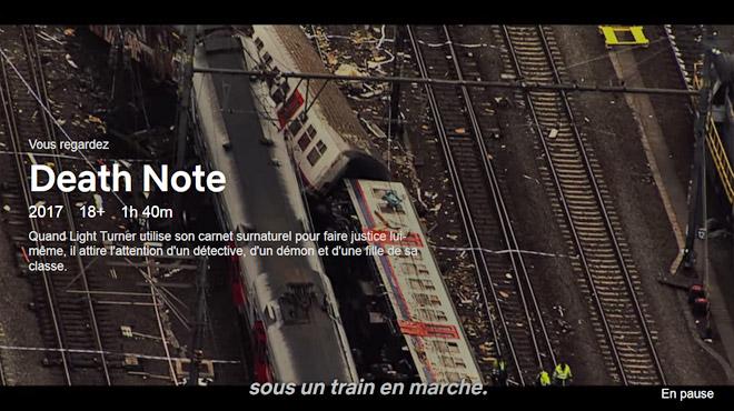 La catastrophe ferroviaire de Buizingen se retrouve malgré elle dans... un film d'horreur de Netflix