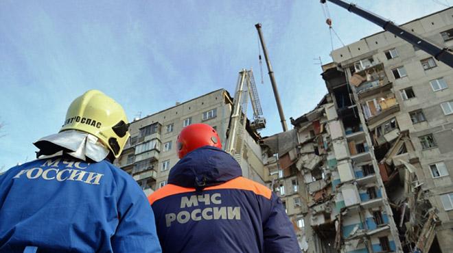 Un immeuble d'habitations explose en Russie: le bilan passe à 37 morts dont 6 enfants