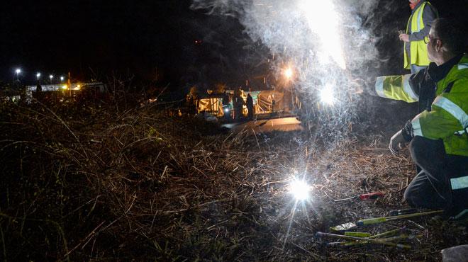 Trafic perturbé par des gilets jaunes à la frontière belgo-néerlandaise