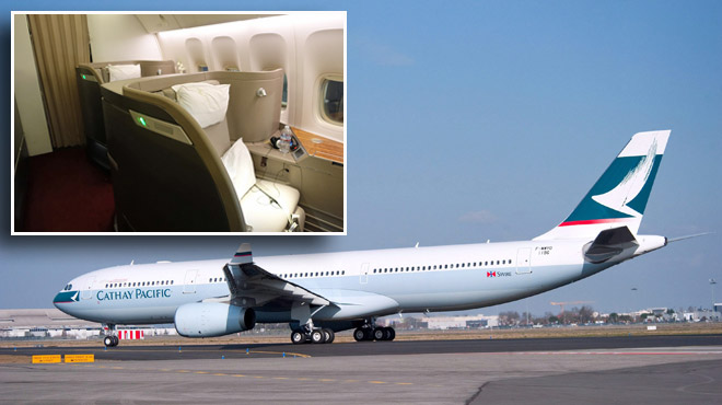 670$ au lieu de 16.000: bévue de première classe pour la célèbre compagnie aérienne Cathay Pacific