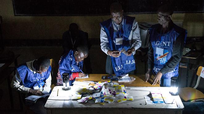 Elections en République démocratique du Congo: il y aura du retard, la collecte des résultats des élections se fait manuellement