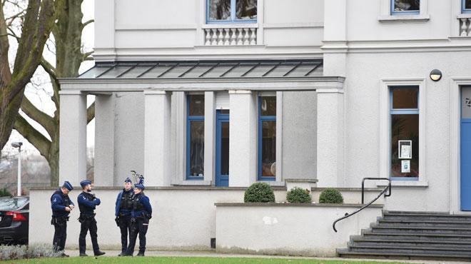La maison communale de Zaventem évacuée à cause d'une poudre suspecte