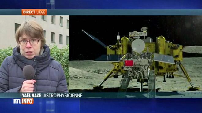 La Chine a envoyé un robot sur la face cachée de la Lune: cette astrophysicienne belge décrypte cette découverte