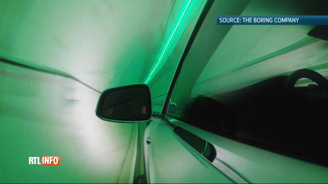 Elon Musk dévoile un TUNNEL pour révolutionner la mobilité