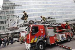 La secrétaire d'Etat Jodoigne appelle à une concertation rapide entre pompiers et police